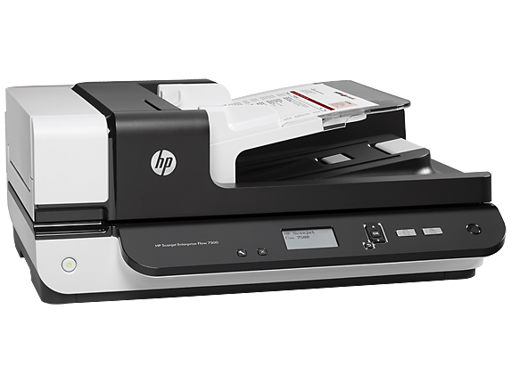 A product photo of HP Scanjet 7500