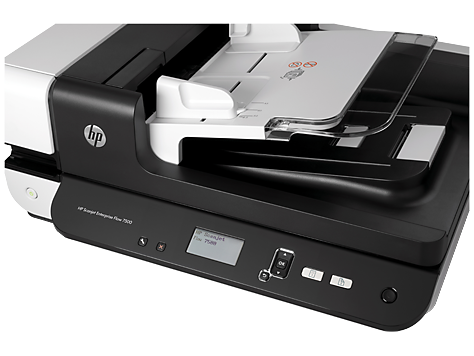 Escáner plano HP Scanjet Enterprise Flow 7500