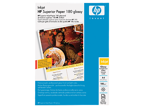 HP Glossy Brochure and Flyer Paper-50 sht/A4/210 x 297 mm (Q1930A ...