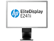 HP:n LED-taustavalaistu 24 tuuman EliteDisplay E241i -IPS-näyttö (ENERGY STAR)