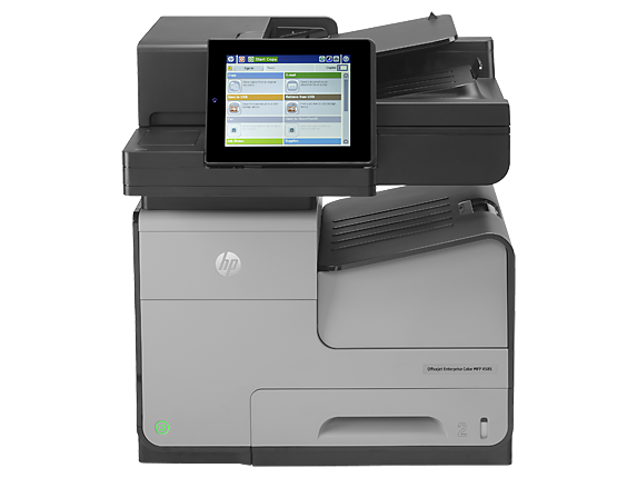 Impresora multifunción en color HP Officejet Enterprise X585f