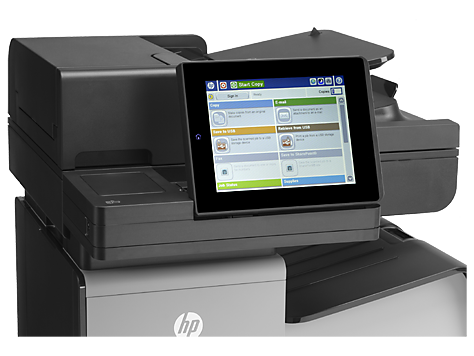 Цветное МФУ HP Officejet Enterprise Color X585f
