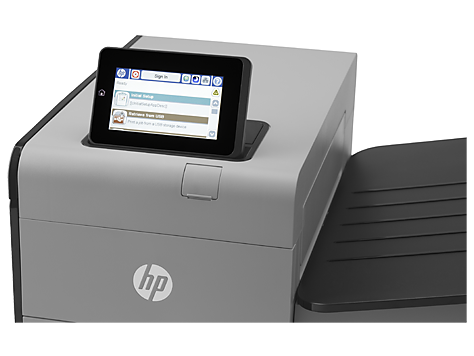 Цветной принтер HP Officejet Enterprise Color X555xh