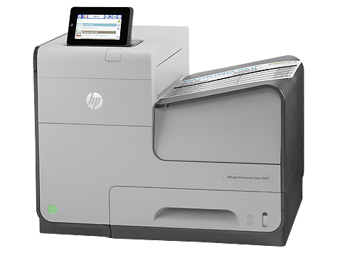 Цветной принтер HP Officejet Enterprise Color X555dn