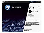 Cartucho de tóner original HP 81A LaserJet negro