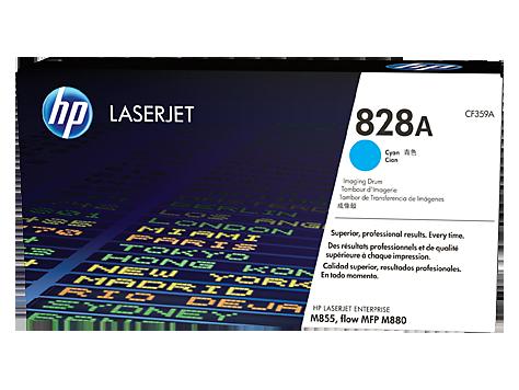 Tambor de imagen HP 828A LaserJet, cian