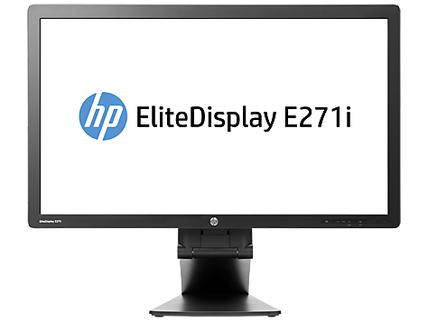 Hp Elitedisplay E271i 27 Inch Ips Led Backlit Monitor