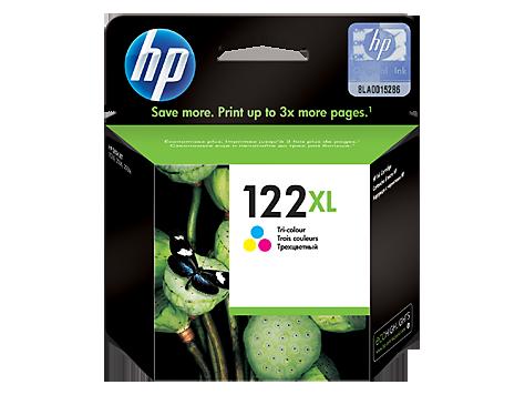 HP 122XL High Yield Tri-color Original Ink Cartridge