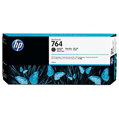 HP 764 300-ml Matte Black DesignJet Ink Cartridge