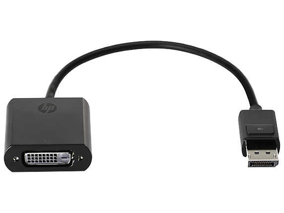 Hp Computer Cables And Connectors : Hp displayport to dvi adapter f w aa middle east