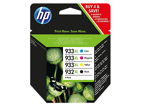 hp 932xl black 933xl cyan magenta yellow 4 pack original ink cartridges c2p42ae hp africa. Black Bedroom Furniture Sets. Home Design Ideas