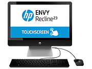 HP ENVY Recline 23-k300 TouchSmart All-in-One Desktop PC series