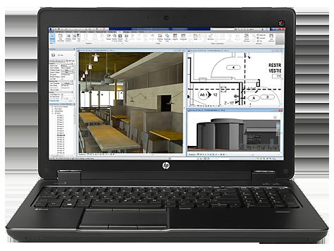 Estación de trabajo móvil HP ZBook 15 G2