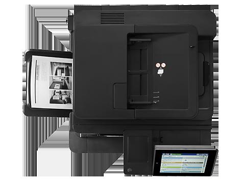 Impresora multifunción HP LaserJet Enterprise M630f