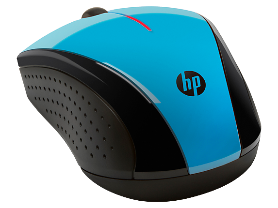 HP X3000 Blue Wireless Mouse(K5D27AA)| HP® Middle East