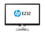 Monitor HP EliteDisplay E232 z diagonalo 58,4 cm (23 palcev) (ENERGY STAR)