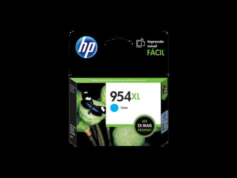 Cartucho original de tinta cian de alto rendimiento HP 954XL