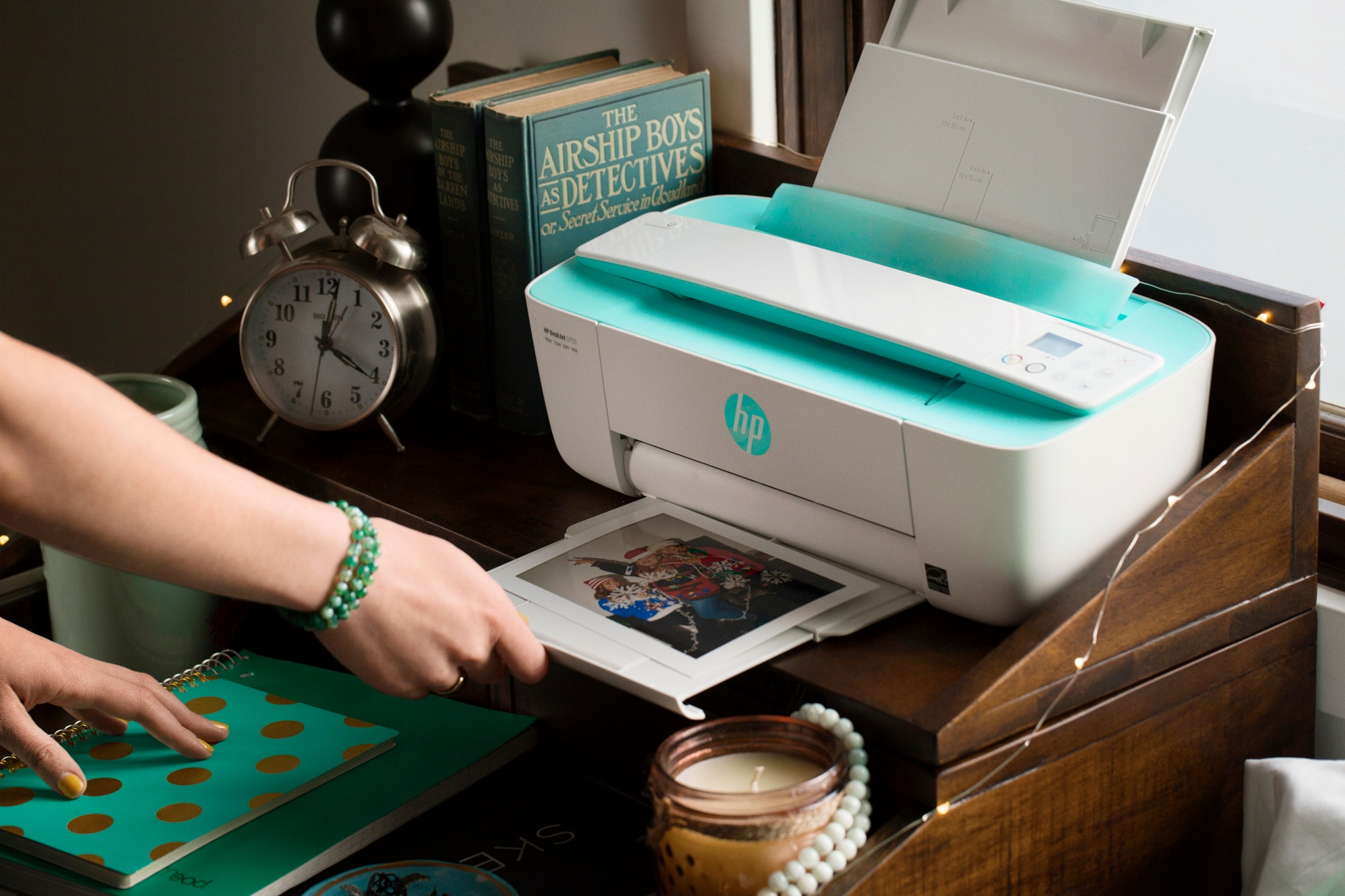 מסודר HP DeskJet Ink Advantage 3785 All-in-One Printer JS-53