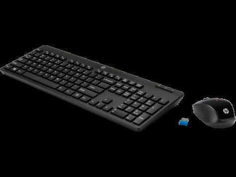 Tastiera e mouse wireless HP 200