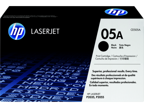 HP 05A Black Original LaserJet Toner Cartridge