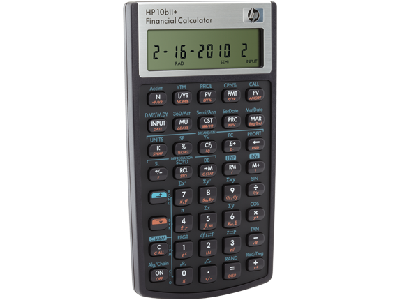 hp 10bii financial calculator nw239aa hp south africa rh www8 hp com hp 10bii user guide HP 10B Review