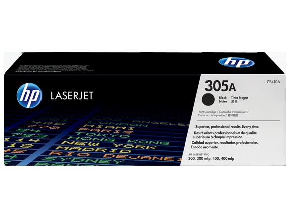 HP 305A, Оригинальный лазерный картридж HP LaserJet, Черный
