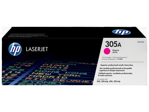 HP 305A bíbor eredeti LaserJet tonerkazetta