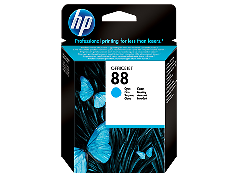HP 88 Cyan Original Tintenpatrone
