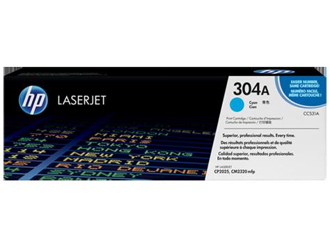 Hp 304a Cyan Original Laserjet Toner Cartridge Cc531a
