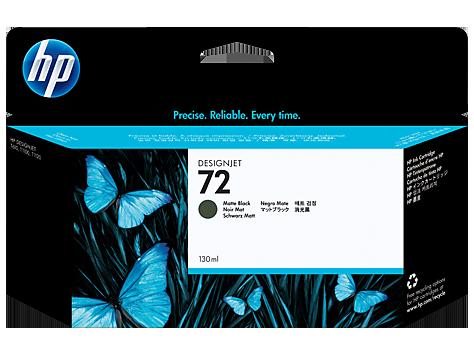 Tindikassett HP 72Matte Black (matt-must), 130-ml