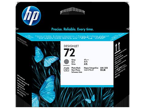 HP 72 Gri ve Fotoğraf Siyahı DesignJet Baskı Kafası