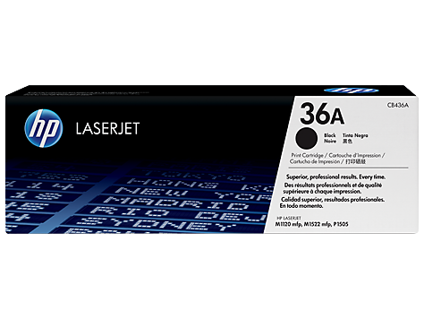 HP 36A oryginalny wkład z czarnym tonerem LaserJet
