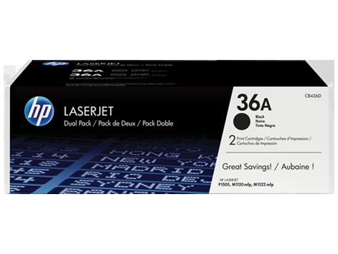 hp 36a 2 pack black original laserjet toner cartridges cb436ad rh www8 hp com