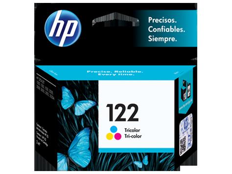 Cartucho original de tinta tricolor HP 122