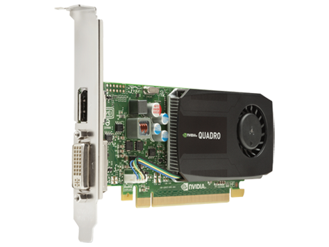 NVIDIA Quadro K600 1GB DL-DVI+DP Graphics Card (C2J92AA) | HP® Africa