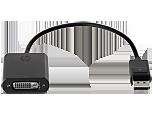DisplayPort-DVI-D変換アダプター