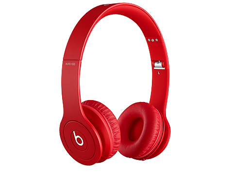 17661394d4a Beats Solo HD On-Ear Red Headphones (J0J80AA) | HP® United States