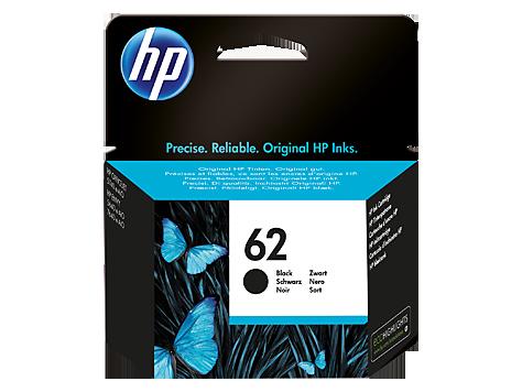 HP 62 cartouche d'encre noire authentique