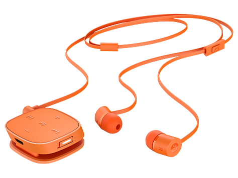 HP H5000 Neon Orange Bluetooth Headset