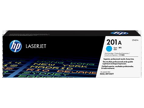 HP 201A, Оригинальный лазерный картридж HP LaserJet, Голубой