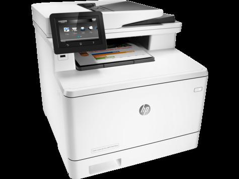 Farebné multifunkčné zariadenie HP LaserJet Pro M477fnw