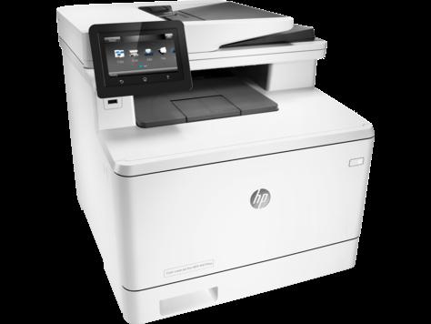 Цветное МФУ HP LaserJet Pro M477fnw