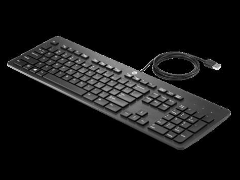 Тонкая USB-клавиатура HP Business