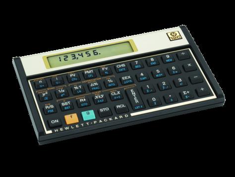 calculadora hp 12c platinum para