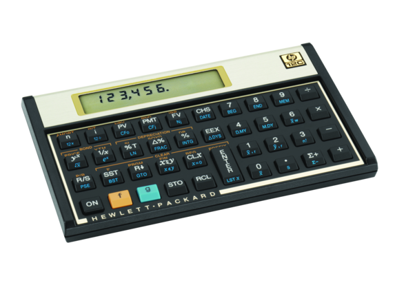 calculadora hp 12c financeira
