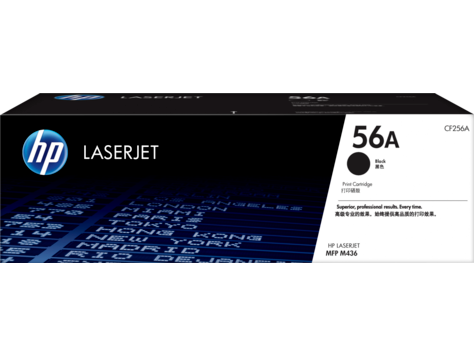 Hp 56a Black Original Laserjet Toner Cartridge Cf256a Hp 174 India