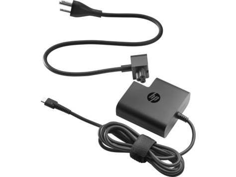 HP 65W USB C Power Adapter