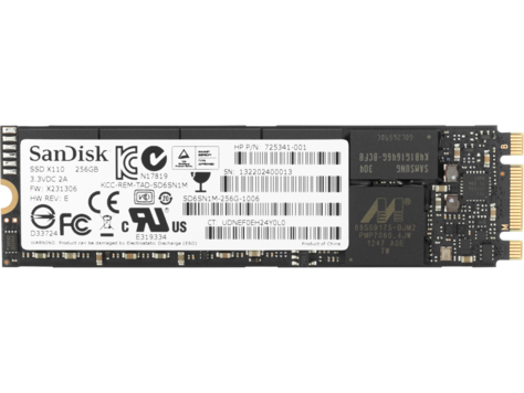 Unidad de estado sólido HP TLC PCIe 3x4 NVMe M.2 de 256 GB