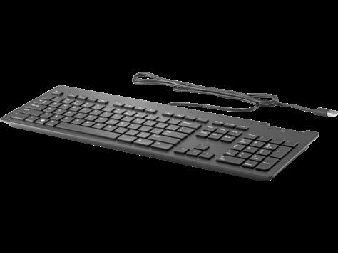 HP Business Slim Smartcard Keyboard(Z9H48AA)| HP® United Kingdom