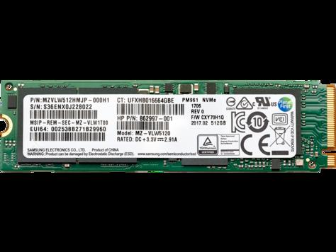 HP 512 GB TLC PCIe 3x4 NVMe M.2 Solid State Drive